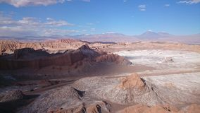 atacama智利de desert la月神瓦尔 库存照片