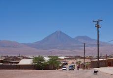 atacama智利de pedro ・圣 图库摄影