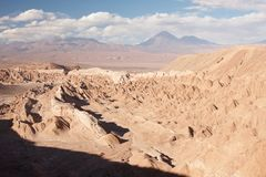 Atacama öken Royaltyfria Foton