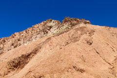 Atacama arid mountain landscape. Atacama desert arid mountain landscape, Chile Royalty Free Stock Images