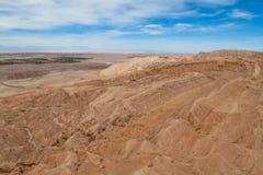 Atacama arid mountain landscape. Atacama desert arid mountain landscape, Chile Stock Images