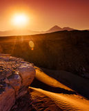 Atacama Burning Stock Image