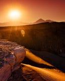 Atacama Burning fotografering för bildbyråer