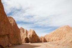 atacama Chile pustyni księżyc dolina Zdjęcie Stock