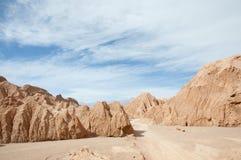 atacama Chile pustyni księżyc dolina Zdjęcia Stock