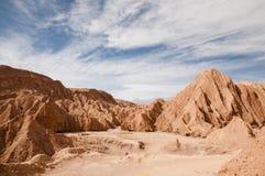 atacama Chile pustyni księżyc dolina Obrazy Royalty Free