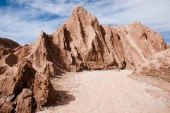 atacama Chile pustyni księżyc dolina Obraz Stock