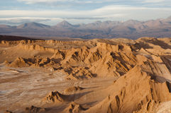 atacama Chile pustyni księżyc dolina Obraz Royalty Free