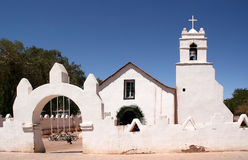Atacama church Royalty Free Stock Image