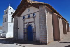 Atacama Church Stock Photo
