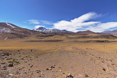 Atacama colors. Atacama landscape full of mountains and colors Royalty Free Stock Photography