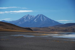 Atacama desert. The Atacama desert of Chile Stock Image