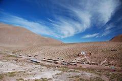 Atacama desert. The Atacama desert of Chile Royalty Free Stock Photo
