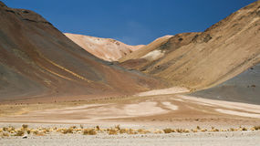 Atacama desert. Picture taken in the driest place on Earth the Atacama desert Stock Photo