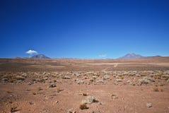 Atacama desert. The Atacama desert of Chile Royalty Free Stock Image