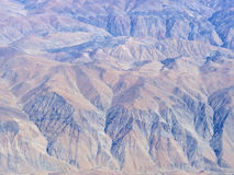 Atacama Desert Aerial Landscape Series 6 Royalty Free Stock Photos