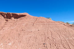 Atacama desert arid flat landscape Stock Images
