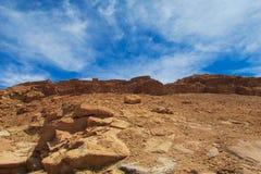 Atacama desert arid landscape. Atacama, Chile Stock Images