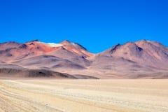 Atacama Desert Bolivia. Atacama desert in Bolivia, close to the border of Chile Stock Photo