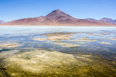 Atacama Desert. The Atacama Desert, in Bolivia, South America.  The driest desert in the world, the Bolivian Atacama is home to some of the most surreal Stock Image