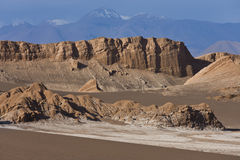 Atacama Desert - Chile stock photography