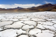 Atacama Desert in Chile Stock Photo