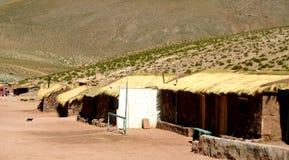 Atacama Desert, Chile. Houses in part of the Atacama Desert, Chile, South America Royalty Free Stock Photo
