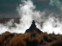 Atacama Desert, Chile. Geysers in part of the Atacama Desert, Chile Royalty Free Stock Photography