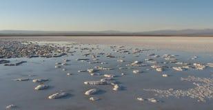 Atacama Desert, Chile. Lago de Sal, Atacama Desert Salt Mountains, Chile Royalty Free Stock Photos