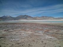 Atacama Desert and its immensity and beauty Stock Photos