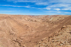 Atacama desert landscape Stock Photos