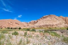 Atacama desert landscape Royalty Free Stock Images