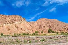 Atacama desert landscape stock image