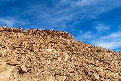 Atacama desert landscape Royalty Free Stock Image