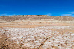 Atacama desert. Landscape, Valle de la Luna, Chile royalty free stock photography
