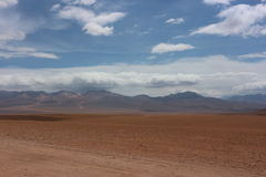 Atacama Desert. Near the border of Bolivia and Chile Royalty Free Stock Photos