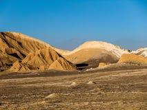 Atacama desert. Near San Pedro de Atacama (Chile royalty free stock images