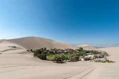 Atacama Desert, Oasis of Huacachina, Peru Royalty Free Stock Photo