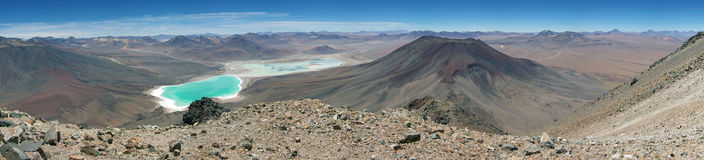 Atacama Desert Panorama Stock Images