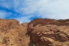 Atacama desert rocks Royalty Free Stock Photos