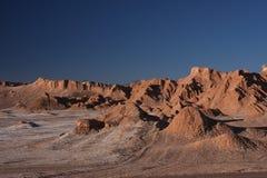Atacama desert at sunset Royalty Free Stock Image
