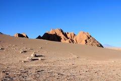 Atacama desert during sunset Stock Image