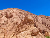 Atacama desert, valle de Quitor stock photos