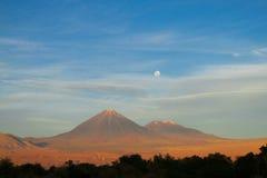 Atacama desert volcano Stock Images