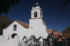 atacama Kościół De Pedro San obrazy royalty free
