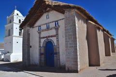 Atacama kyrka Arkivfoto