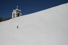 atacama kyrkliga de pedro san Royaltyfri Fotografi