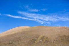 Atacama Mountain with blue sky in Eduardo Avaroa Park Stock Images