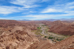 Atacama, o Chile fotografia de stock royalty free