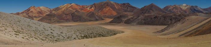 Atacama Panorama Royalty Free Stock Photography